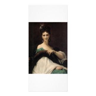 Cabanel Alejandro La Comtesse de Keller 1873 Tarjeta Publicitaria