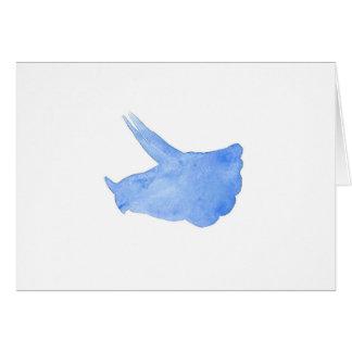 Cabeza azul del Triceratops Tarjeta De Felicitación
