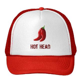 Cabeza caliente gorra