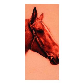 Cabeza de caballo lona publicitaria