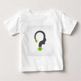 Cabeza de la flecha camiseta de bebé