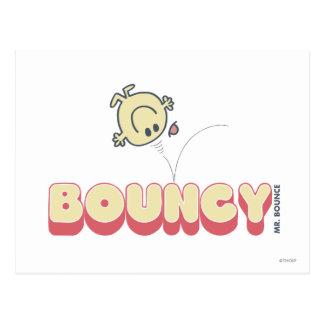 Cabeza de Sr. Bounce Bouncing On His Postal