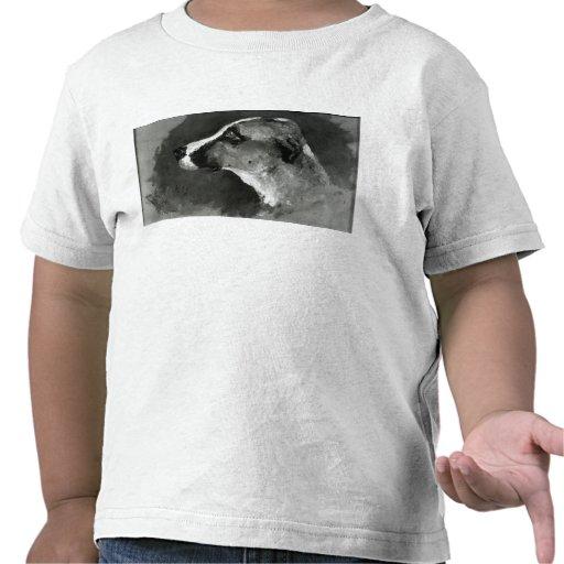 Cabeza de un perro con los oídos cortos, 1879 camiseta