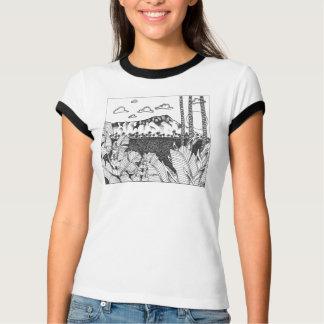 Cabeza del diamante camisetas