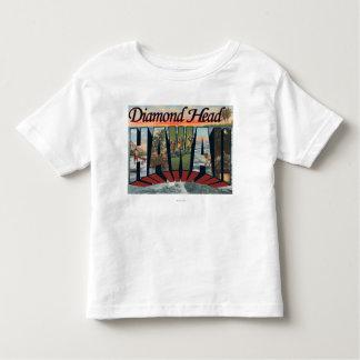 Cabeza del diamante, Hawaii - escenas grandes de Camiseta