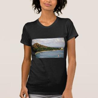 Cabeza del diamante - playa de Waikiki, Oahu Camisetas