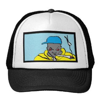 Cabeza del hip-hop gorros bordados