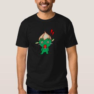 Cabeza del la del en de Duendecillo Flor Camiseta