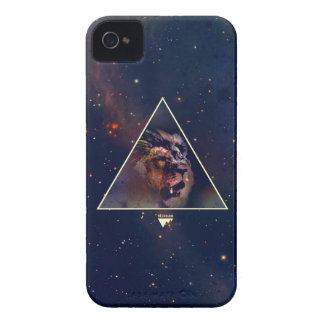 Cabeza del león del triángulo de la galaxia - iPhone 4 funda