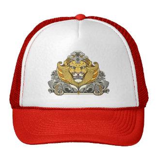 cabeza del león gorro