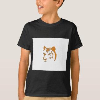 Cabeza del tigre camisas