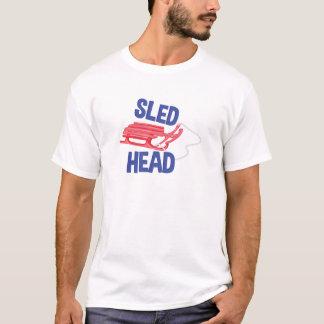 Cabeza del trineo camiseta