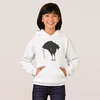 Cabeza en el Doodle de la avestruz de la arena
