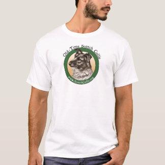 Cabeza escocesa de antaño del collie camiseta
