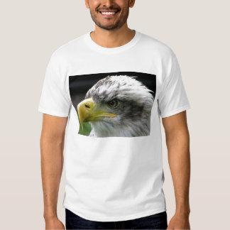 Cabeza grande de Eagle Camisetas