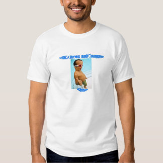 Cabeza grande, poco logotipo del pulgar camisetas