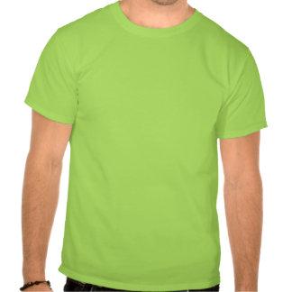 Cabeza verde grande verde camisetas