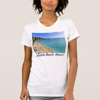 Cabeza y Waikiki del diamante Camiseta
