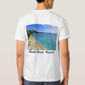 Cabeza y Waikiki del diamante Camisetas