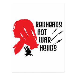 Cabezas de los Redheads no Postal