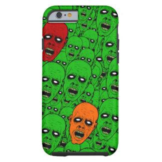 Cabezas del zombi de los Undead Funda De iPhone 6 Tough