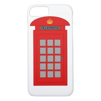 Cabina de teléfonos británica funda iPhone 7