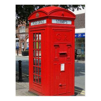 Cabina de teléfonos de Beritish Postal