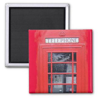 Cabina de teléfonos roja de Londres Imán De Frigorifico