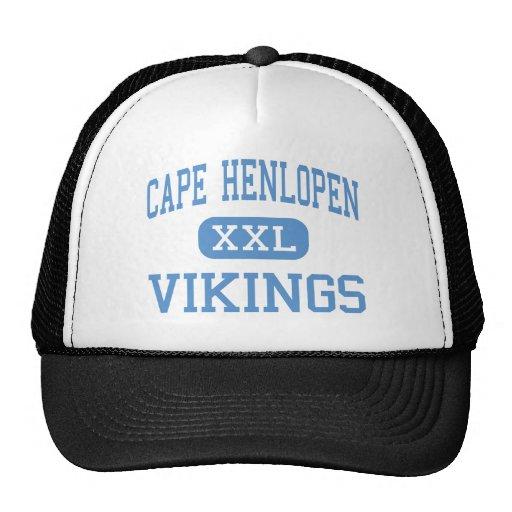 Cabo Henlopen - Vikingos - altos - Lewes Delaware Gorra