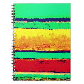 Cabo raya el cuaderno diseñado artista