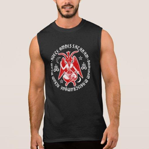 Cabra de Mendes Baphomet satánica Camisetas Sin Mangas