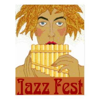 Cacerola del Fest del jazz Postal