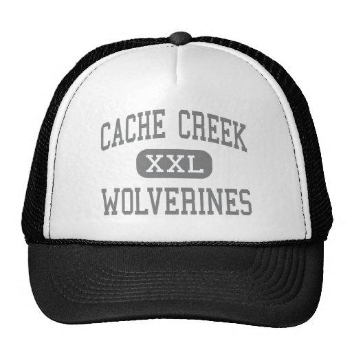 Cache Creek - carcayúes - alto - Yolo California Gorras