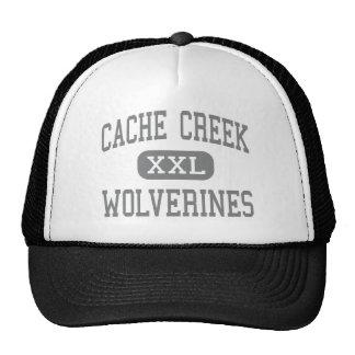 Cache Creek - carcayúes - alto - Yolo California Gorras De Camionero