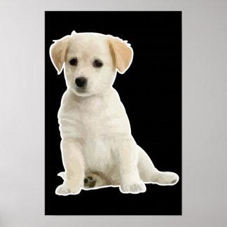 Cachorrito de la O.N.U de la soja Posters