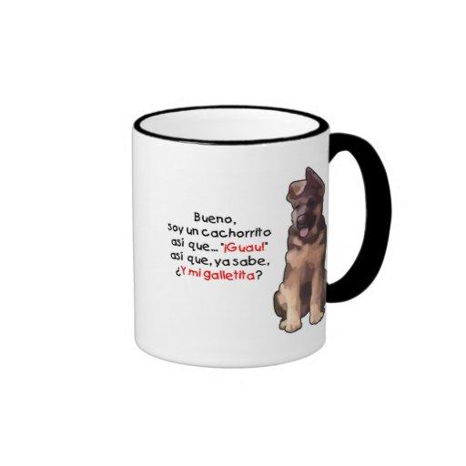 Cachorrito de la O.N.U de la soja Taza De Café