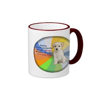 Cachorrito de la O.N.U de la soja Taza