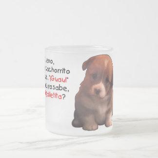 Cachorrito de la O.N.U de la soja Tazas