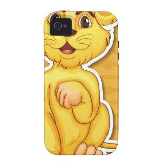 Cachorro de león iPhone 4 funda