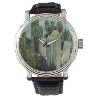 Cactus de Arizona Reloj De Mano