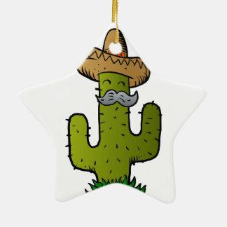 Adornos dibujo del cactus for Cactus navideno