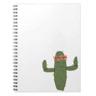 Cactus princess notebook
