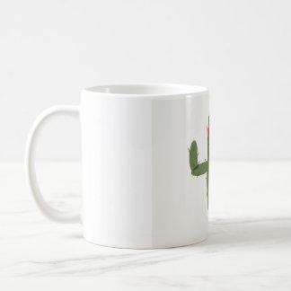 Cactus princess taza de café