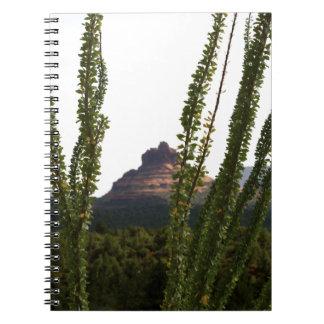 cactus sobre la roca de Bell Cuadernos
