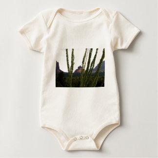 cactus sobre la roca de Bell Peleles De Bebé