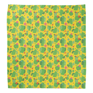 Cactus yo exterior (amarillo) - pañuelo