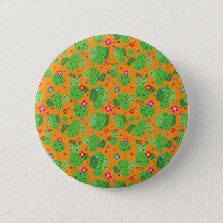 Cactus yo exterior (naranja) - botón