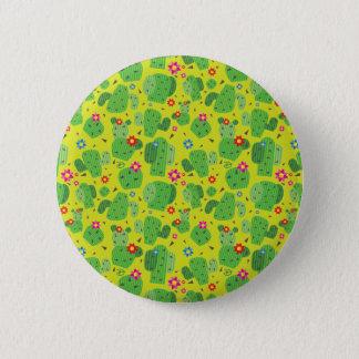 Cactus yo exterior (verde) - botón