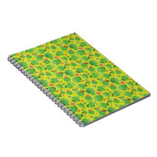 Cactus yo exterior (verde) - cuaderno