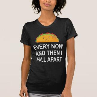 Cada ahora y después me caigo aparte camisa